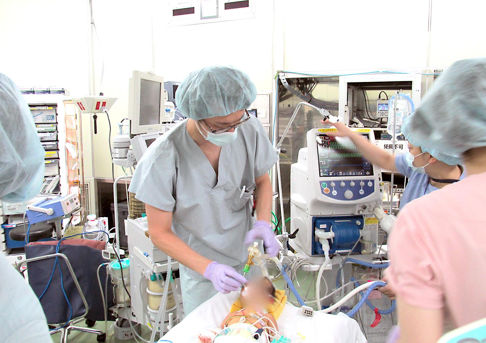 麻酔科手術室